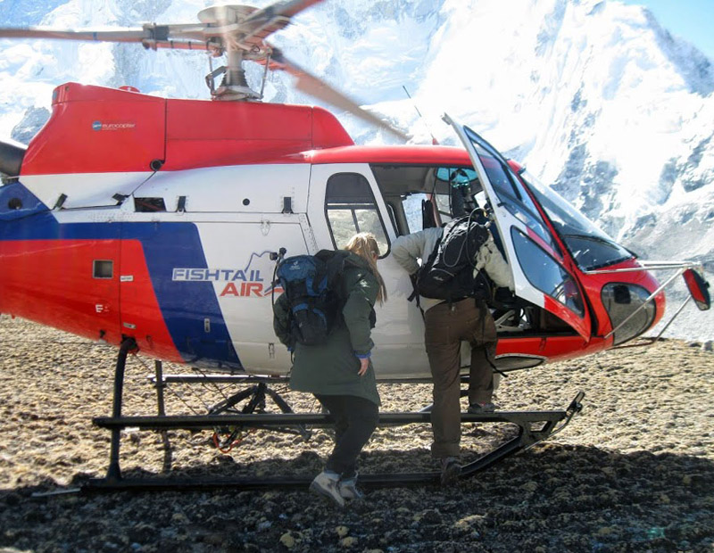 Everest Helicopter Trip